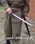 Bayonet as used by Home Guards