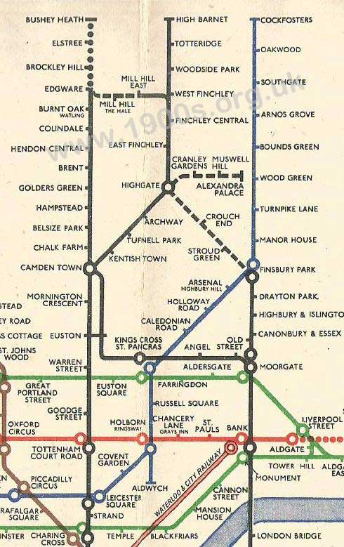 Borehamwood London Underground of 1946 London Underground