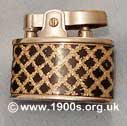 Decorative women's cigarette lighter, made in Japan, common in the 1950s and 1960s, 2 of 2