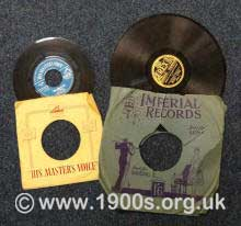 45 and 78 gramophone records, thumbnail