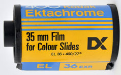 Roll of film for colour slides