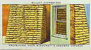 The British World War Two home front in cigarette card pictures