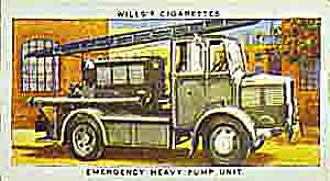 World War Two emergency heavy pump unit.