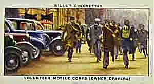 Second World War volunteer mobile corps of owner drivers