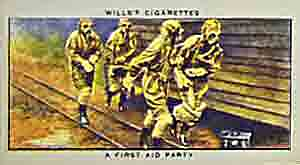 A World War Two gas first aid party