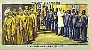 World War Two civilian anti-gas school
