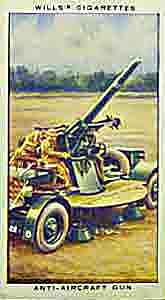 World War Two anti-aircraft gun