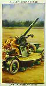 UK Anti-aircraft gun, World War Two - known as an Ack-Ack gun