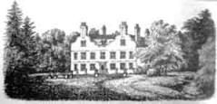 The old House of Copt Hall, Mill Hill, north London in 1868, small image