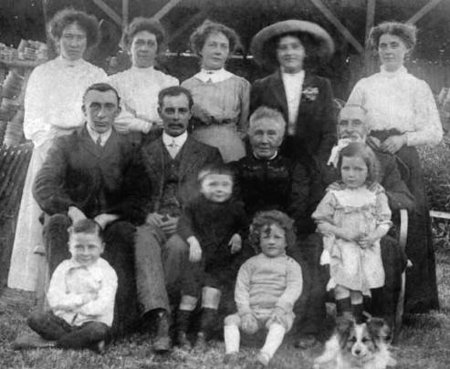 A typical family of the early years of the twentieth century