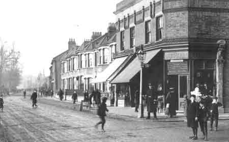 Silver Street, old Edmonton, early 1900s