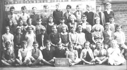 Class 1 at Silver Street School