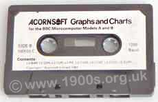 cassette audio tape for saving early computer data