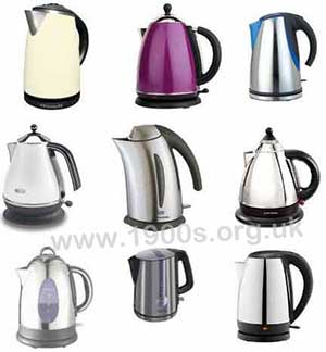 Small sample of designer kettles