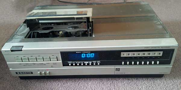 Early video recorder/player