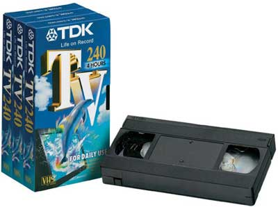 240 minute video tape