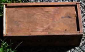 Old cigar box, used for storing bits and pieces