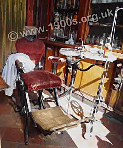 Victorian dentist's chair