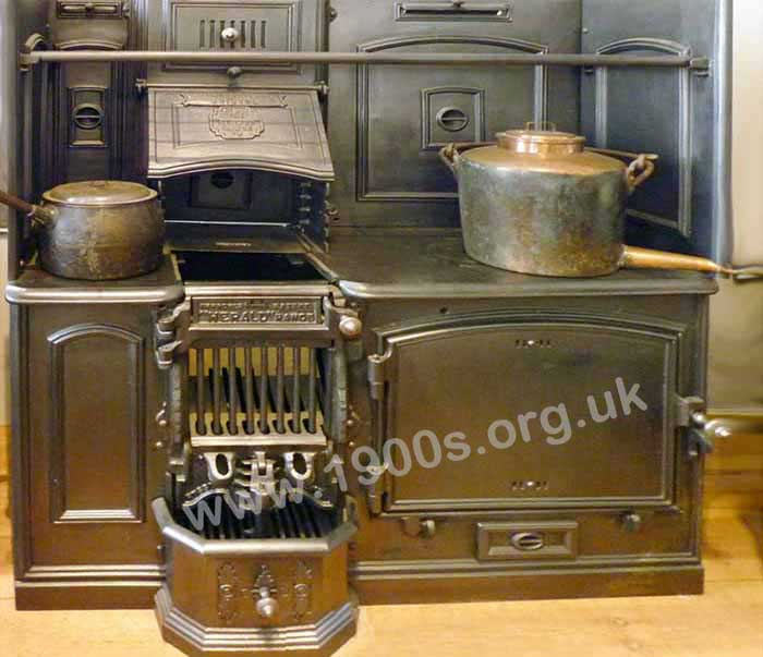 Key Parts Of Old Kitchen Ranges