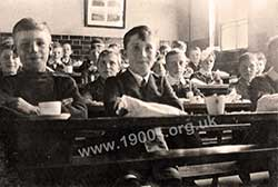 All boys tiered classroom 2 of 2, c1910