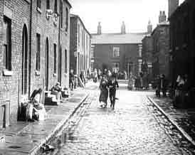London slums, early 1900s 2 of 2