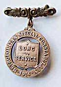 special constable long-service medal, early 1900s