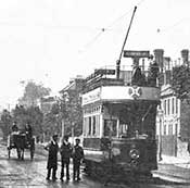 Trolley bus 1910