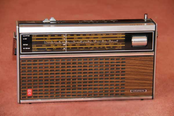 1963 radio: Grundig City Boy 1100, thumbnail